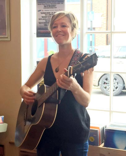 Emily Barker at Hundred Records